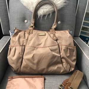 Storksak Olivia Diaper Bag in Champagne